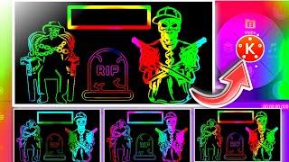 Attitude Boy Status Editing In Kinemaster || Attitude Name Art Video || Whatsapp Status