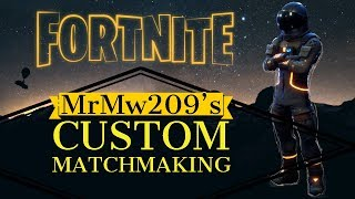 (EU) HOSTING CUSTOM MATCHMAKING SCRIMS FORTNITE | WITH  5k SUBS | ANY PLATFORM | Fortnite LIVE !Code