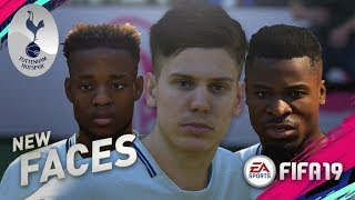 FIFA 19 Demo | TOTTENHAM HOTSPUR NEW PLAYER FACES