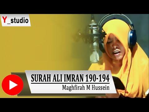 Maghfirah M Hussein Surat Ali imran 190-194  (Official Video) HD Subtittle