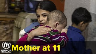 11-year-old Syrian girl forced to grow too fast