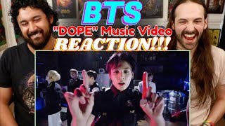 "BTS (방탄소년단) | ""DOPE"" MV   REACTION!!!"