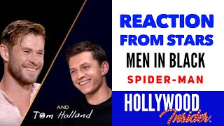 REACTION FROM STARS: In Conversation With Chris Hemsworth & Tom Holland On Men In Black + Spider-Man