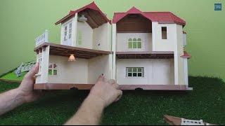 Sylvanian Families Stadthaus mit Licht 2752