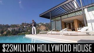 $23MILLION HOLLYWOOD MANSION!!