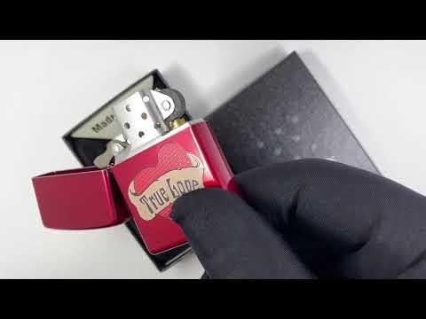 21063 True Love Зажигалка Zippo Candy Apple Red