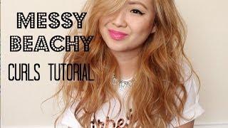 Messy Curls & Hair Extension Tutorial