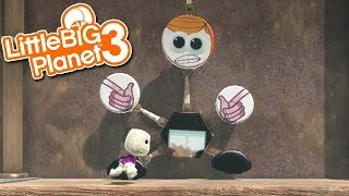 LittleBIGPlanet 3 - Dennis Diarrhea and the Chocolate Toilet [Platformer by GOUDBOOG] - PS4