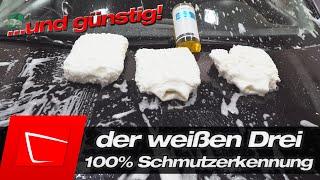 Maxshine Waschhandschuh ultra-flauschig und komplett weiß für Mehr-Hanschuh-Waschmethode!