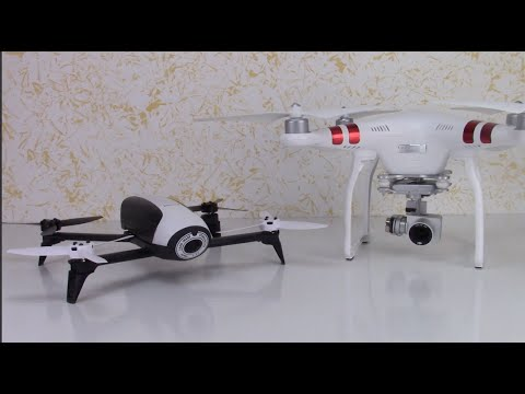 bebop 2 vs phantom 3 standard ita