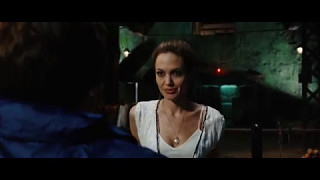 Angelina Jolie in Wanted 2008 | stay away from me! (movie scene 3|9)