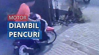 Ditinggal Belanja Lebaran Selama 10 Menit, Motor Milik Warga di Surabaya Raib Digondol Pencuri