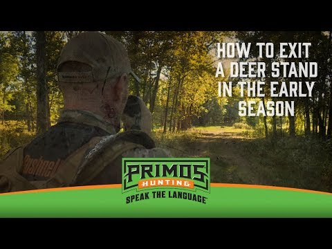 How to Exit a Deer Stand in the Early Season video thumbnail