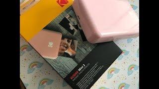 Kodak Mini 2 Instant Photo Printer - Un-boxing! EASY TO USE!!!