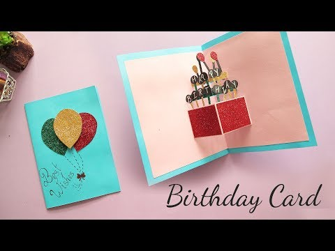 Download Video DIY Pop Up Birthday Card