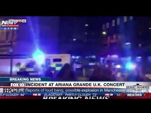 BREAKING: 22 Confirmed Dead At Ariana Grande Manchester U.K. Concert Attack (FNN)