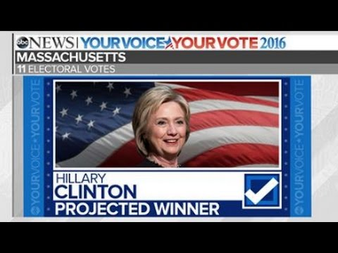 Clinton Wins DC, MA, MD, NJ - Trump Wins MS, OK  | Election Results 2016
