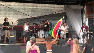 Video REGGAE AREA 2015 Ústí nad Labem - Ganja Band Ivana  Štráfka