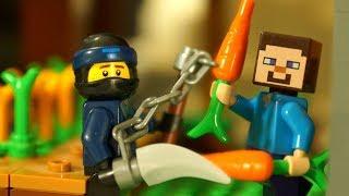 НУБ МАЙНКРАФТ против ЛЕГО НИНДЗЯГО Мультфильмы Лего Мультики Видео Игрушки для Детей