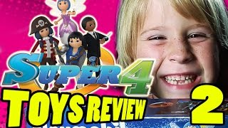 Super 4 Toys Review PART 2: Interview with Toy Designer and Twinkle's Flower Tower | Beau's Toy Farm | Kholo.pk