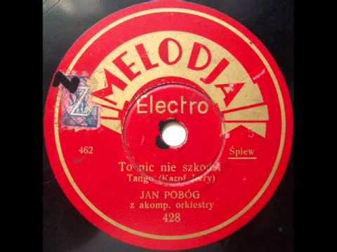 Tadeusz Faliszewski - To nic nie szkodzi (Old Polish Tango), 1936.avi