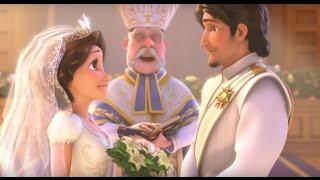 Рапунцель - счастлива навсегда | Которкометражки Студии Walt Disney | мультики Disney о принцессах