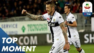 Kucka goal is not enough for Parma to seal victory | Cagliari 2-1 Parma | Top Moment | Serie A
