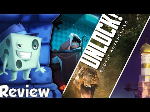 Unlock! Exotic Adventures Review - with Tom Vasel