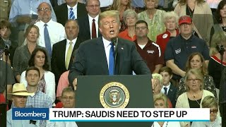Trump Says Saudi King Wouldn't Last Two Weeks Without U.S. Help