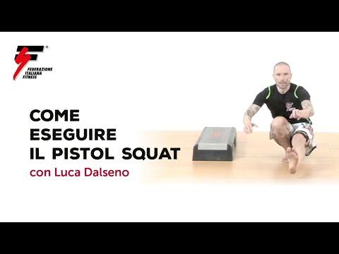 Come eseguire il Pistol Squat