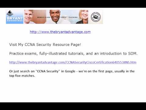 CCNA Security Certification Practice Exam: NTP, SSH, And More ...