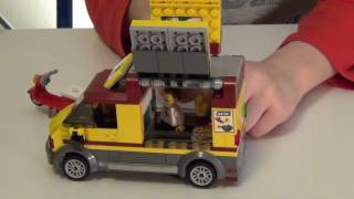 Обзор Lego city pizza 60150 машина лего пицца