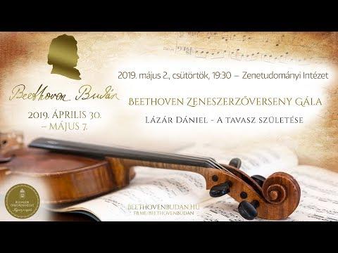Beethoven Budán 2019 - Zeneszerzőverseny Gála: Lázár Dániel - video preview image