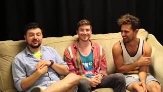 Backstage with Walk The Moon | #SFLive