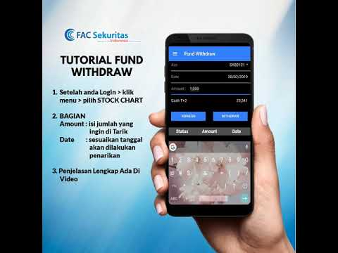 Tutorial Fund Withdraw