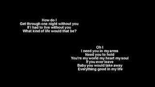 How Do I Live + Trisha Yearwood + Lyrics / HD