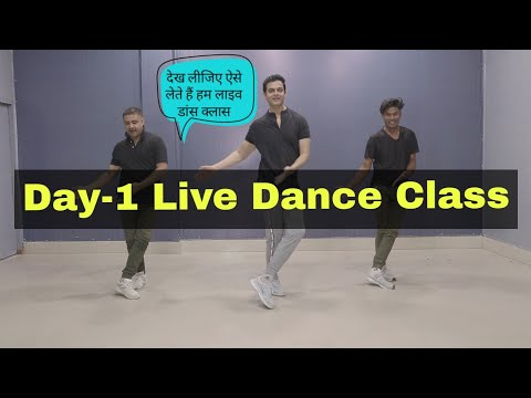 Day one - Live Dance Class for Boys and Girls | Parveen Sharma