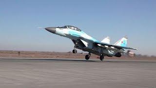 Вертикальный взлет новейшего МиГ-35 на форсаже: уникальная съемка