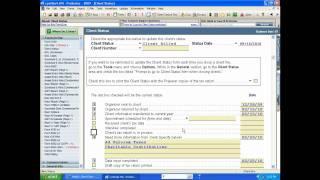 ProSeries Client Status