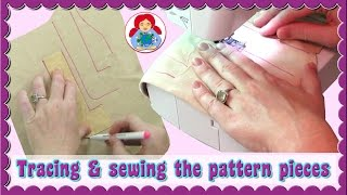 DIY | Making A Waldorf Doll: Tracing And Sewing The Pattern Pieces | Sami Doll Tutorials