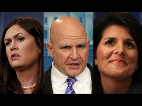 WATCH LIVE: Sarah Sanders, Nikki Haley and H.R. McMaster preview UNGA at White House briefing