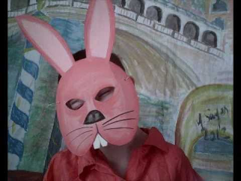 Masque de lapin à fabriquer