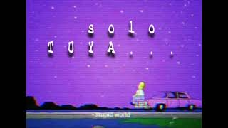 Solo Tuya - CxJ ft