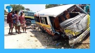 Several injured in accident along Likoni-Lunga Lunga Highway