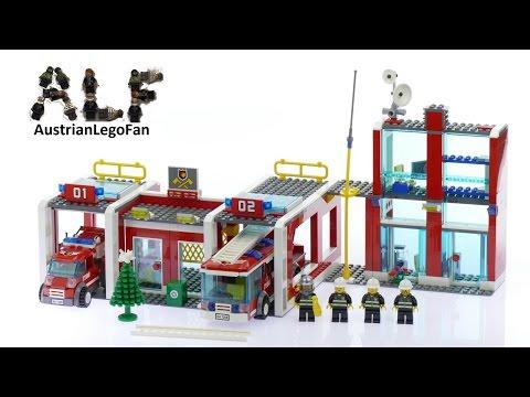 Vidéo LEGO City 7208 : La caserne des pompiers