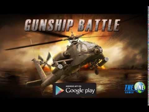 Vídeo do GUNSHIP BATTLE : Helicopter 3D