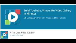ALL IN ONE VIDEO PLUG IN FOR WORDPRESS – START YOUR OWN YOUTUBE CLONE