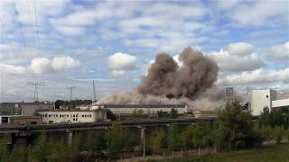preview picture of video 'Beerdigung Bunkerschwerbau Kraftwerk Lippendorf am 10.9.2011'