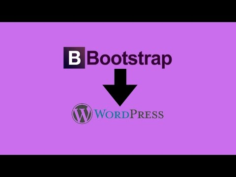 Bootstrap to WordPress Conversion Part 1 | Introduction