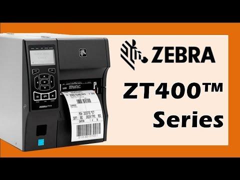 Zebra® ZT410™ Impresora Industrial de Etiquetas